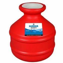 Red 18 Litre Sardar Shakti Plastic Gagar