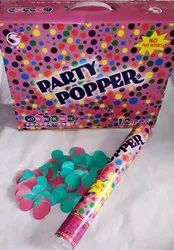 40 cm Polka Dot Suitcase Box Party Popper