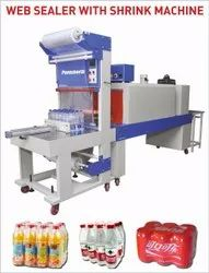 Pet bottle wrapping machine