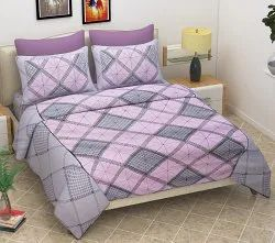 Designer Double Bed Sheet Cotton
