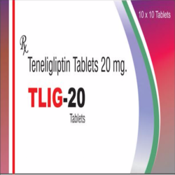 TLIG Teneligliptin Tablet, Packaging Type: Alu Alu, Packaging Size: 10 X 10