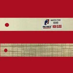 Nacoya Teak High Gloss Edge Band Tape