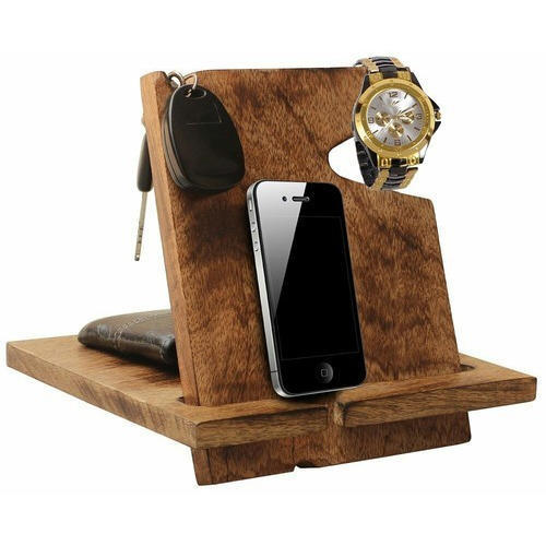 purchase cheap ac2e3 df121 Wooden Mobile Wallet Stand