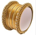 American Diamond Gold Plated Bangles for Girls