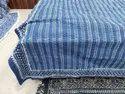 Meera Handicrafts Handmade Kantha Vintage Bedcover Cotton Blanket Trow Bedspread