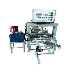 Fully Automatic Vertical Hydraulic Thali Making Machine
