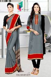 Showroom Uniform Saree Salwar