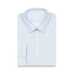 Mens Cotton Dot Printed Shirts