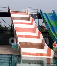 FRP(fibre reenforced plastic) Pool Water Park Family Slide