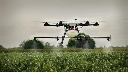 Agriculture Drone For Spraying Fertilizer And Pesticides In India