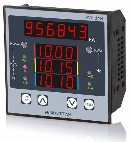 Multispan AVH-14N Multifunction Meter, for Industrial Use
