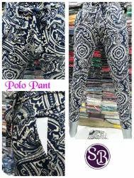 Zadine SB Polo Pant With Pocket