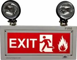 Double Beam exit light