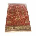 Majestic Multicolour Kashmiri Silk Carpet