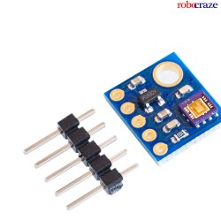 Robocraze Analog UV Light Sensor Breakout-Analog Output Ultra-Violet Light Sensor Module
