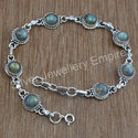 Labradorite Gemstone Beautiful Jewelry Unique Bracelet