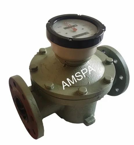Amspa Heavy Duty Flow Meter For Tanker Unloading ( 3 Inch ), 100 Degree C Max