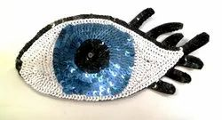 Eyes Beaded Patches