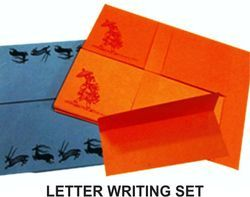 Assorted Prints & Colors PAPER THEATRE Letter Writing Set