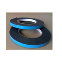 Blue, Black Backing Material: Paper Release Liner Double Sided Closed Cell Foam Tape