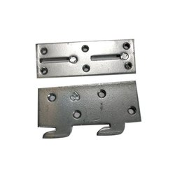 Mowjee Mild Steel Plate Type Bed Bolt, Size: 4 Inch Length