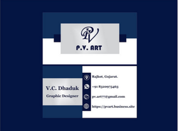 Visiting Card Designing Services, Size Of Business Card: Standard