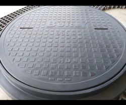 FRP Round Heavy Duty Manhole Cover