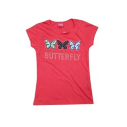 Round Neck Half Sleeves Girls Printed Cotton Top, Packaging Type: Bundle Contain- 9 Pieces
