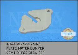 Plate, Moter Bumper ,  IRA 6055 / 6265 / 6075 ,  OEM NO : FC6-3584-000