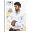 King Royal Cotton Mens Fancy Plain Shirt, Size: S