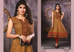 Hirwa Presents Signature Cotton Anarkali Kurtis