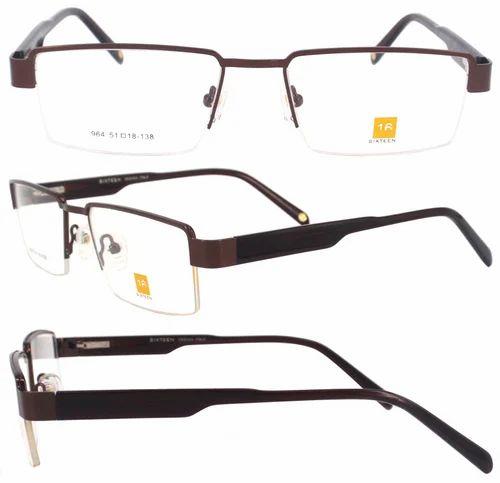 Sixteen Fashionable Unisex New Elegant Optical Eyeglasses-964, Size: 51 mm