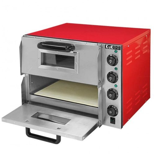 Electric Pizza Oven - Stone Based (Double Deck)