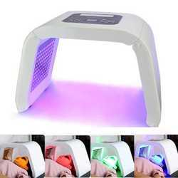 4 Color Photodynamic Lamp PDT LED Light Therapy Beauty Machine Acne Wrinkle Remove Skin Rejuvenation