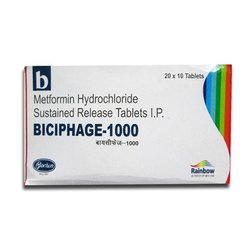 Metformin 1000 (Biciphage)