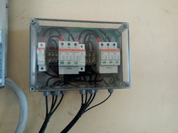 Three Phase Aluminium Solar ACDB/DCDB, IP Rating: IP55