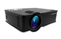 I9 LED LCD Projector Black