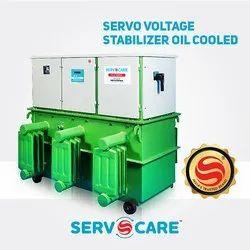 3 Phase Oil Cooled Servo Voltage Stabilizer