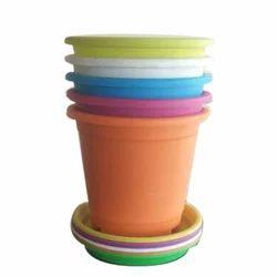 Plastic 6 Inch Flower Pot