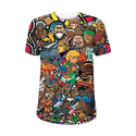 Boys Cotton Printed Half Sleeve T Shirt, Size: S - 5 Xl