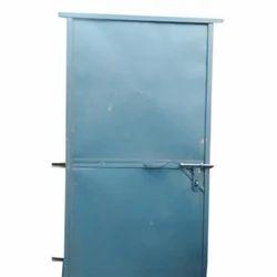 Blue Iron Plain Door