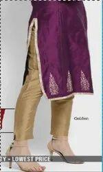 Taffeta Silk Pant