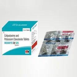 Cefpodoxime and Potassium Clavulanate Tablets
