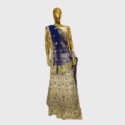 Golden Fancy Lehenga