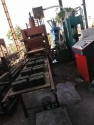 High Pressure With High Vibration Machine For Making M50 Grade Paver Blocks & Fly Ash Bricks