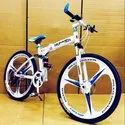 Hummer White Foldable Cycle