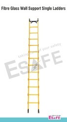 Heavy Duty Wall Support Single Ladders