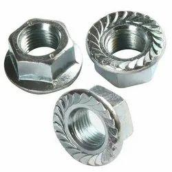 Mild Steel Flange Nuts