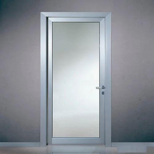 glass door. Aluminum Single Glass Door L