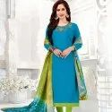 Party Wear Cotton Salwar Suit
